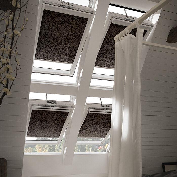 Afbeelding: Velux raamdecoratie