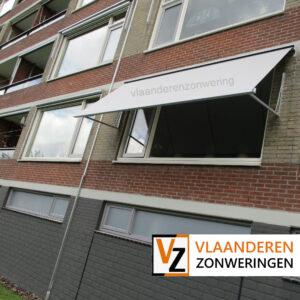 Afbeelding: Uitvalscherm op maat voor een appartement